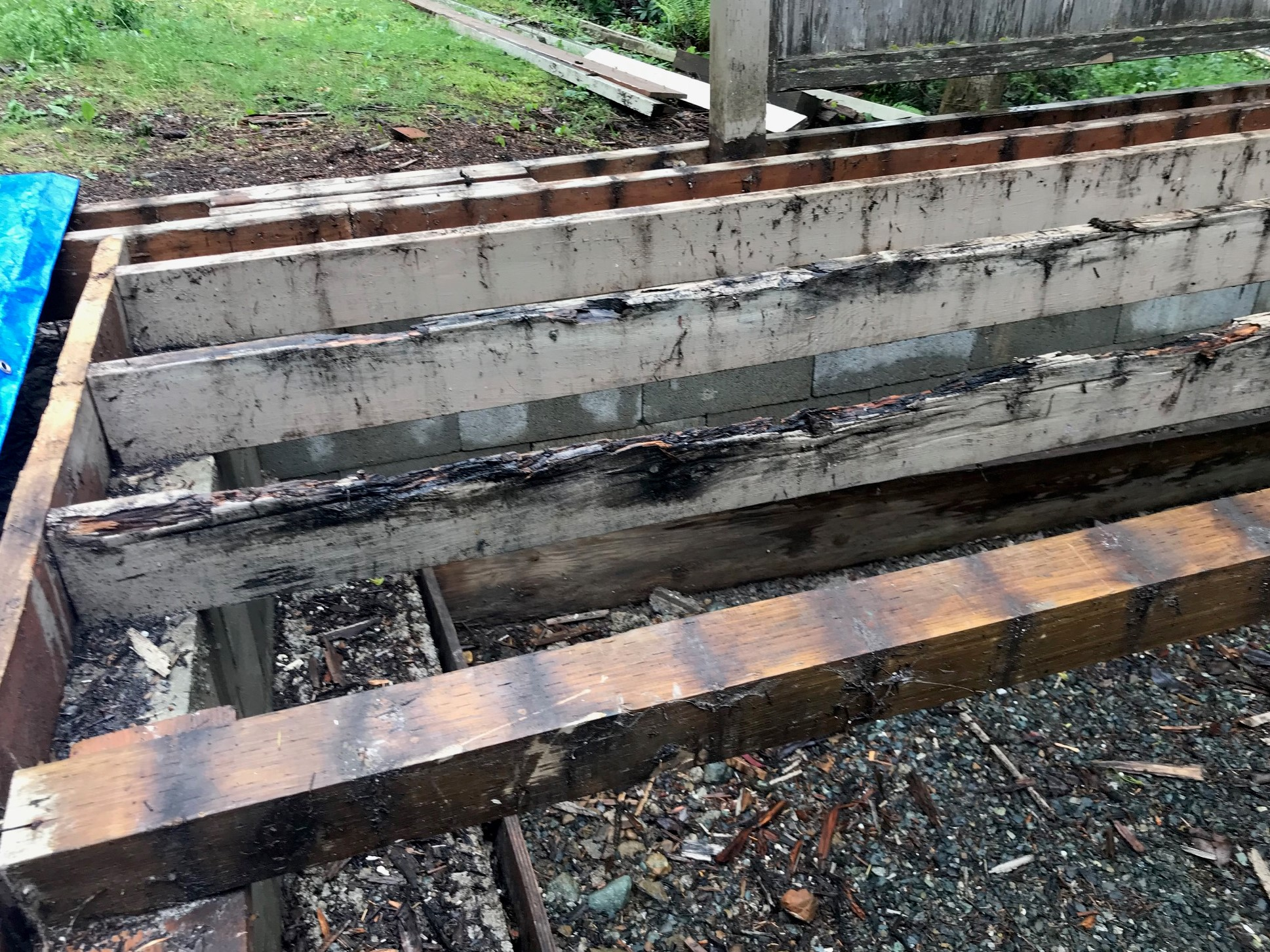 Rotten Deck Joists